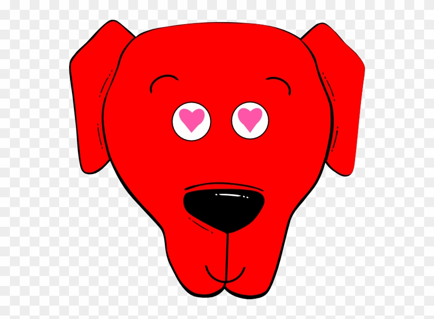 Cartoon Dog Face Clipart 2189760 Pinclipart
