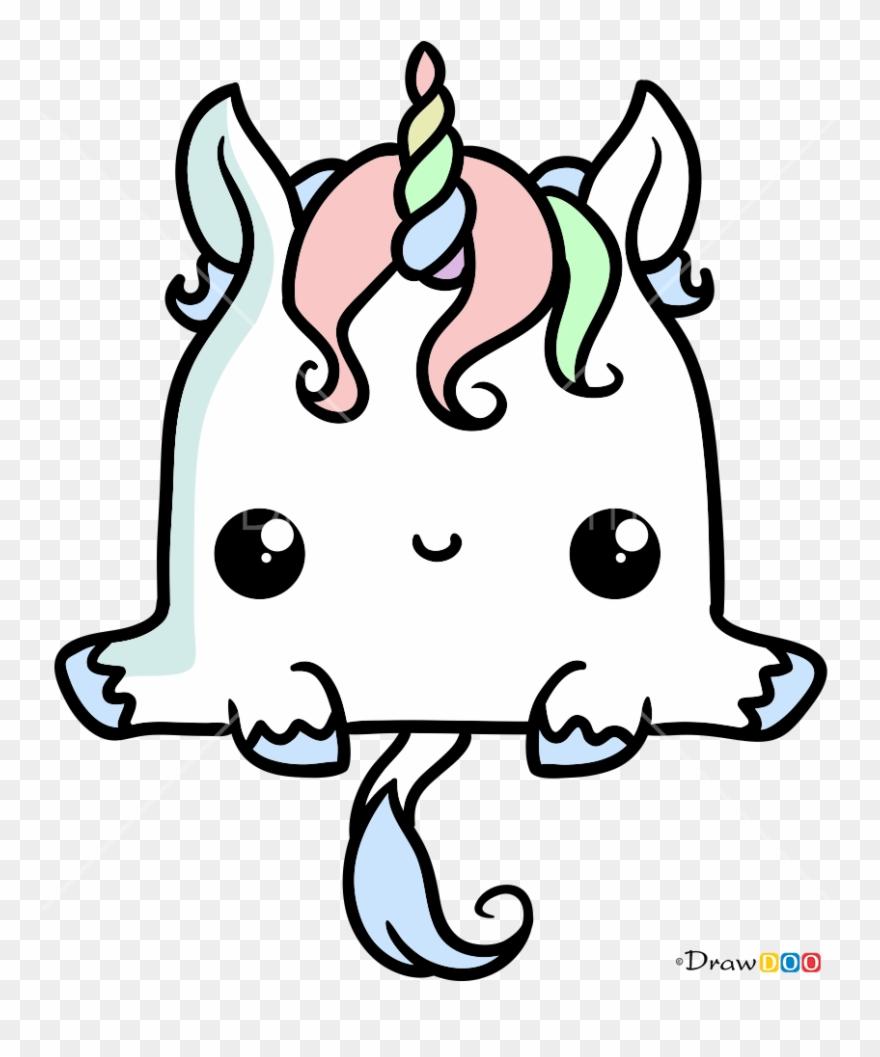 Unicornio Kawaii Para Colorear Clipart 2190990 Pinclipart