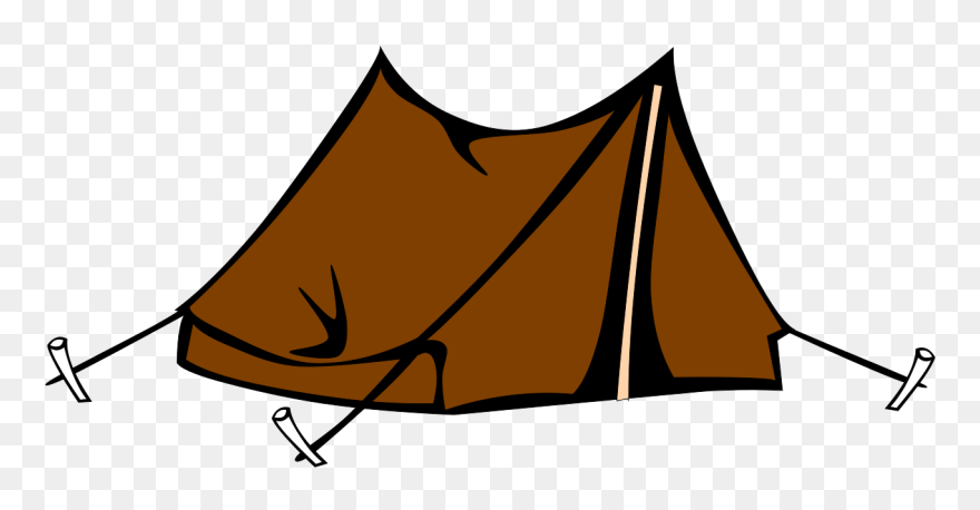 Camping transparent. Kit items for survival