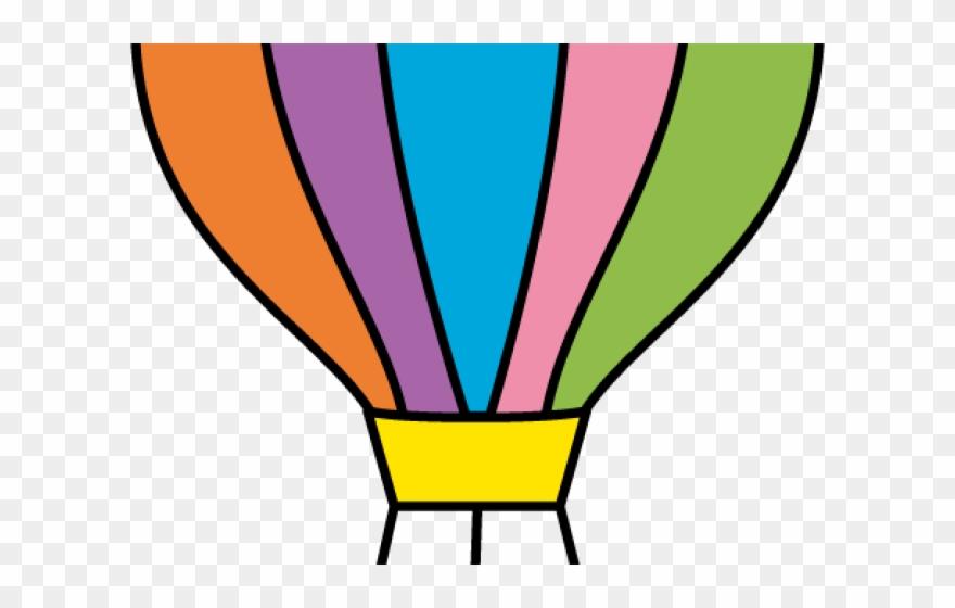 Parachute Clipart - Cut Out Hot Air Balloon Template - Png ...