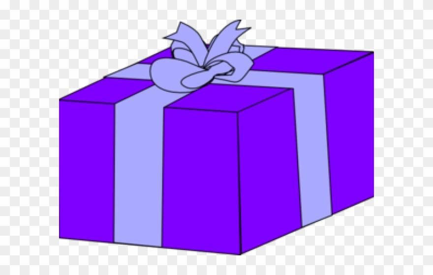 Gift Clipart Violet