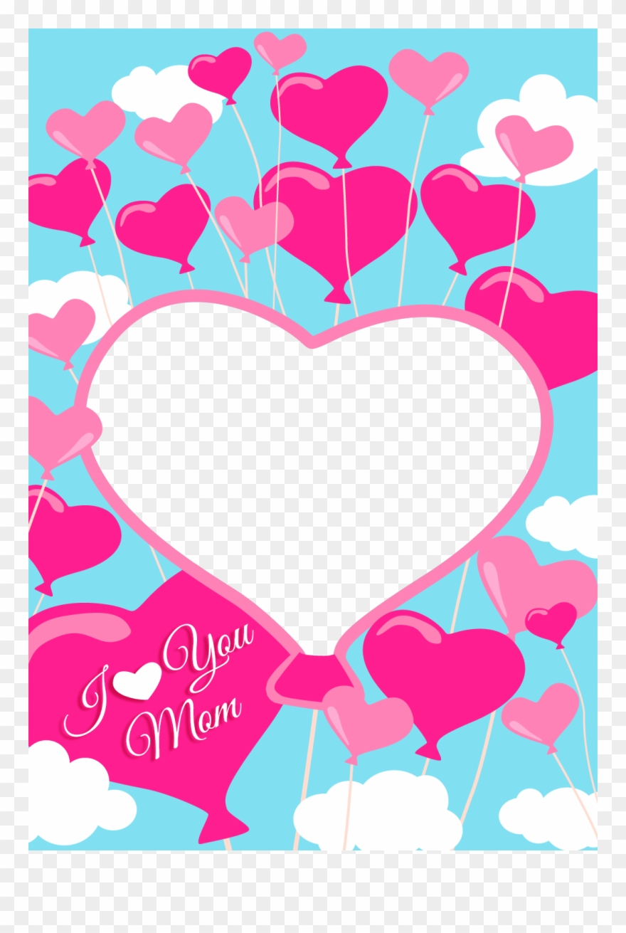 photo relating to I Love You Printable Cards named No cost Printable I Delight in Your self Mother Greeting Card With Incorporate - Mother