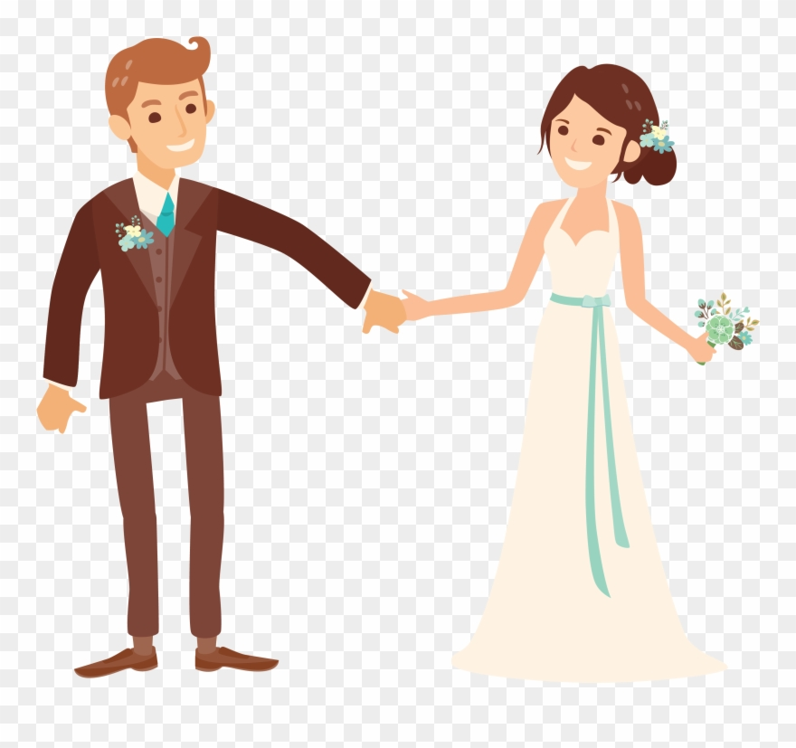Married Couple Png - Clipart Png Wedding Clipart Transparent Png