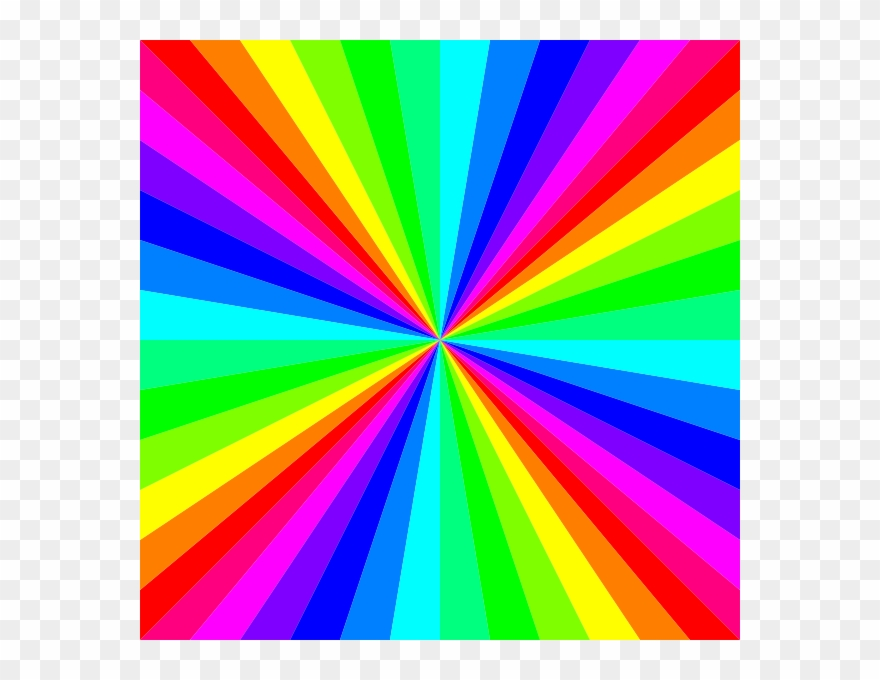 Colored Clip Art Rainbow Colors Png Download 225937 Pinclipart