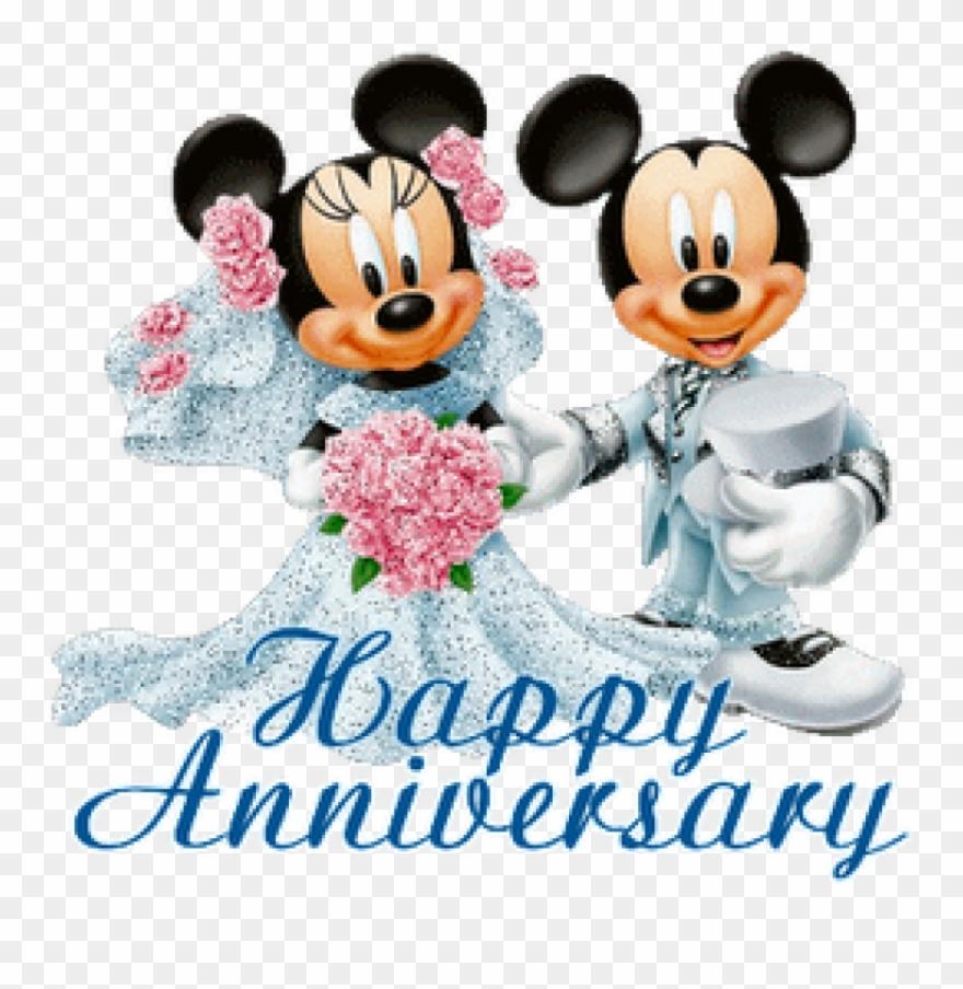 Free Wedding Anniversary Clipart Free Wedding Anniversary Mickey Mouse Wedding Anniversary Png Download 226148 Pinclipart