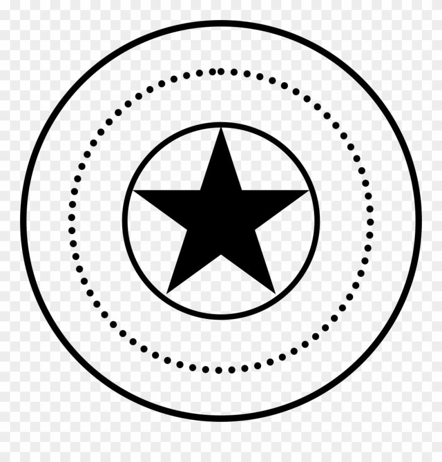 Png Icon Free Dibujo Escudo De Capitan America Clipart 229728