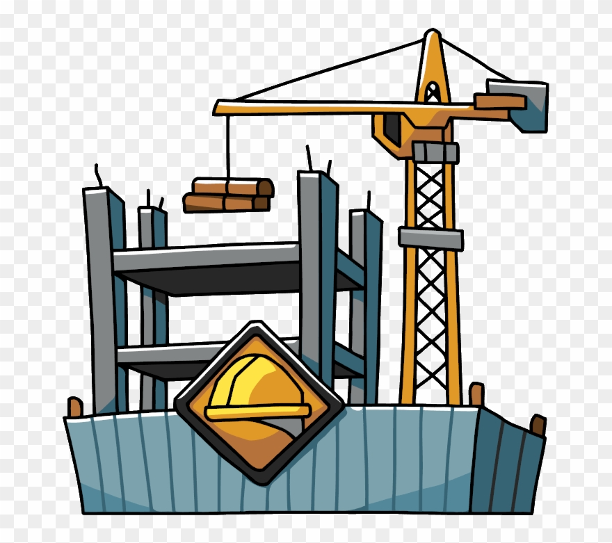 Freeuse Stock Building Construction Clipart - Building Construction Clipart Png Transparent Png