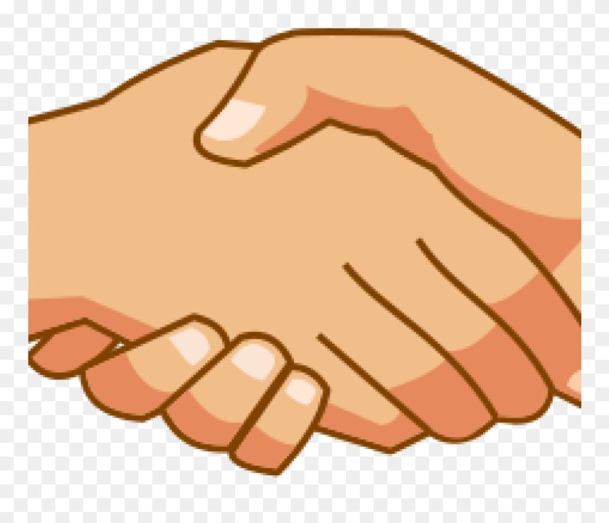 Handshake Clipart Free 19 Handshake Banner Black And ...