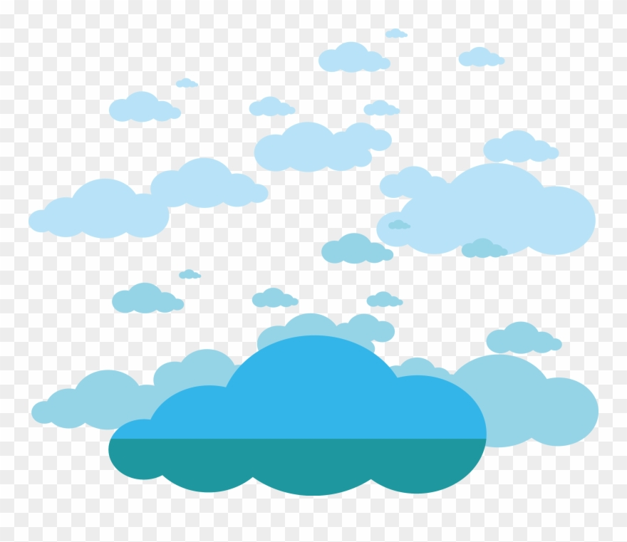 Clouds Material Transprent Free - Clouds Vector Png Free Clipart