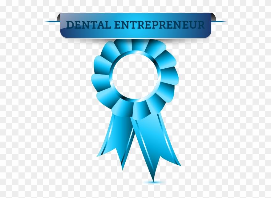 image regarding Ribbon Template Printable known as Dental Entrepreneur - Ribbon Template Printable Clipart