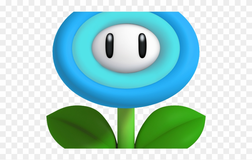Frost Clipart Snow Flower Mario Bros Ice Flower Png Download 2214400 Pinclipart