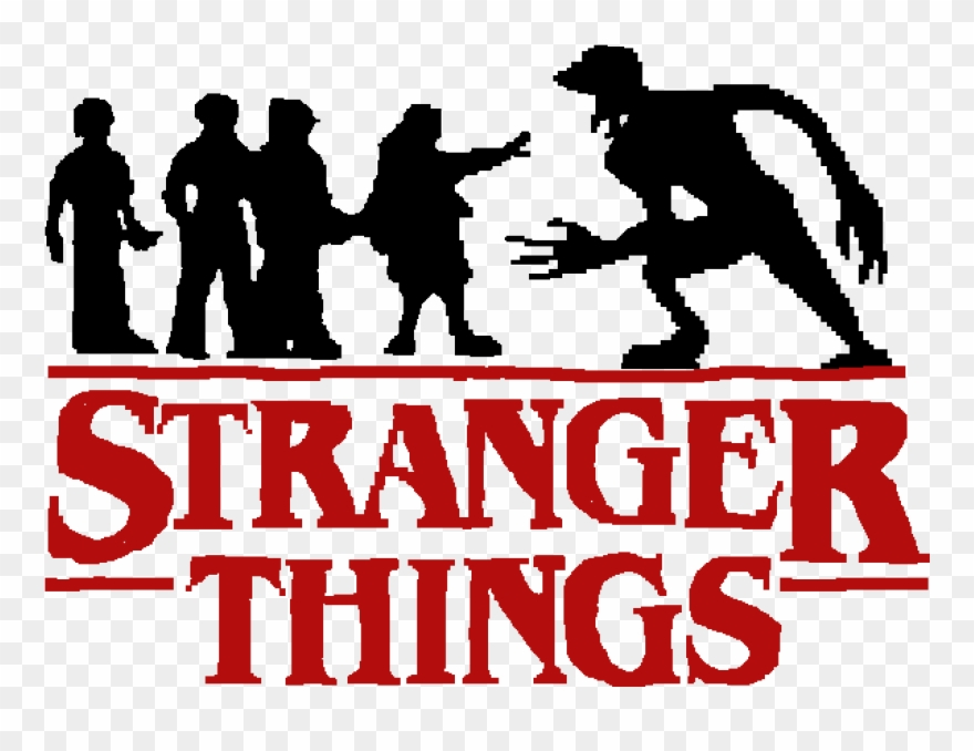 604 Logo De Stranger Things Png Clipart 2215045 Pinclipart