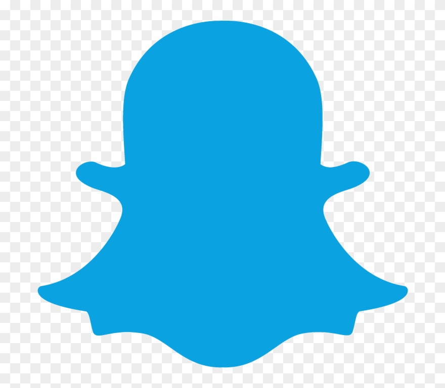Snapchat Blue Logo Png Clipart Snapchat Icon Png Transparent Png 2215542 Pinclipart