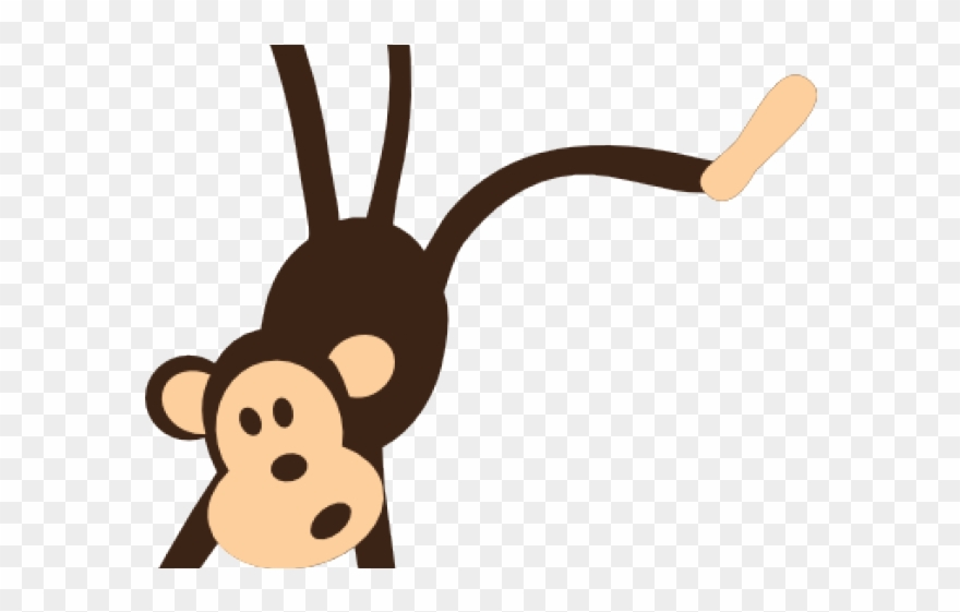 Hanging Monkey Zoo Animals Clipart Png Transparent Png 2217133