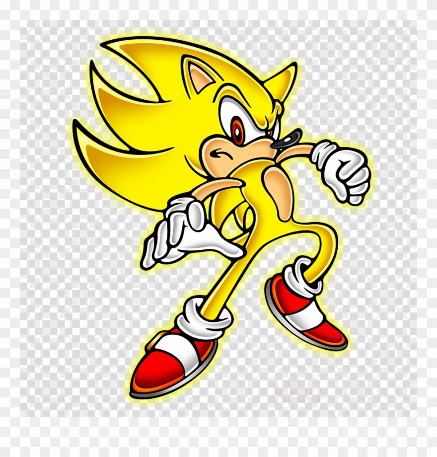 Sonic Yellow Png Clipart Sonic The Hedgehog Knuckles Super Sonic Musmatta Ill Barn Som Alskar Super Sonic Transparent Png 2217591 Pinclipart
