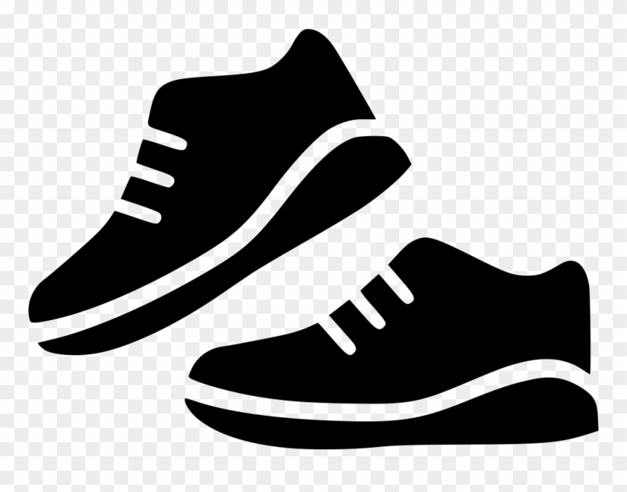 527f41e4c6ce6 Sport Shoes Pair Run Svg Png Icon Free Download 530722 Clipart ...