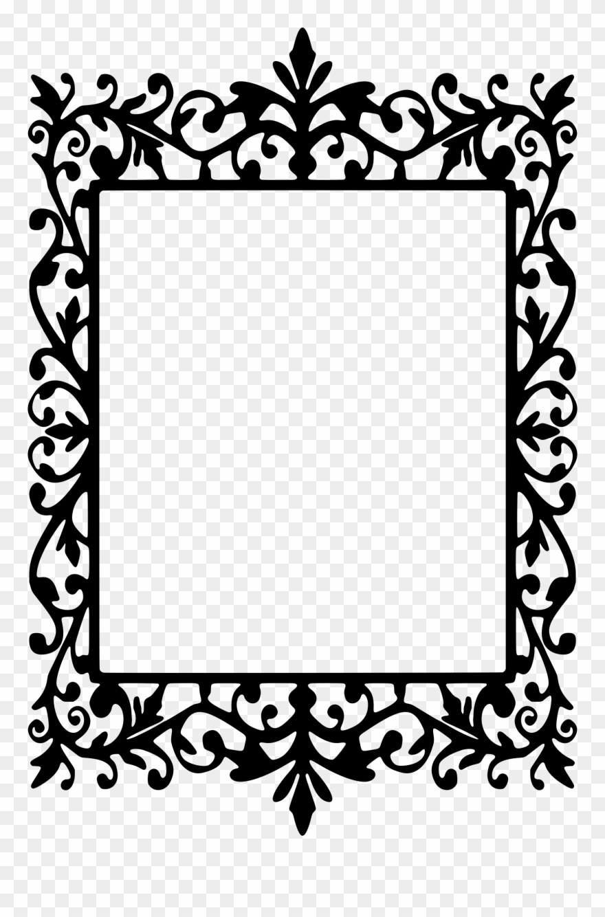 Frame rectangle. Clip art transparent library