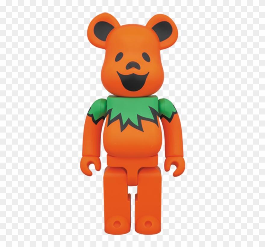 Be@rbrick 400% Grateful Dead Dancing Bear Clipart (#2248869
