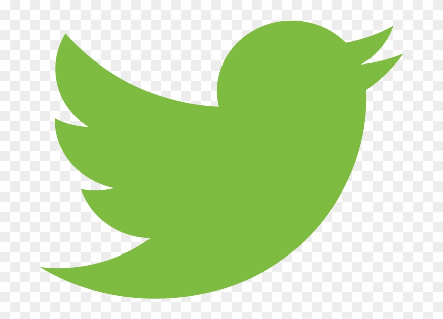 Twitter green. Town square on clipart