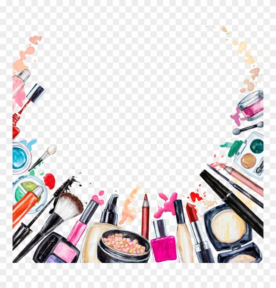 Cosmetics Beauty Makeup Brush Clipart 2262222 Pinclipart
