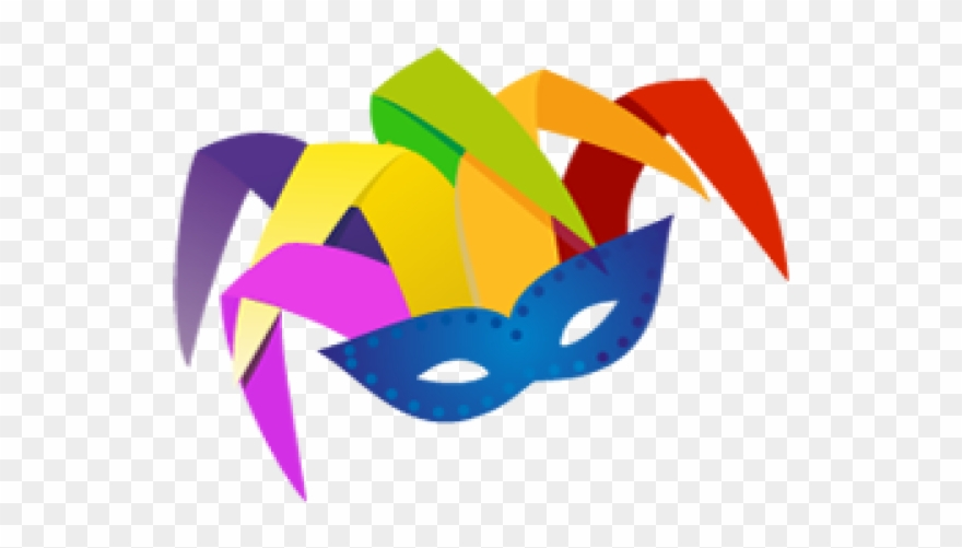Masks Clipart Purim - Png Download
