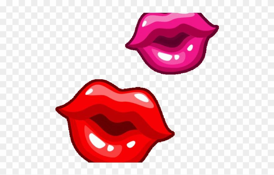 День поздравления, картинки губ анимашки