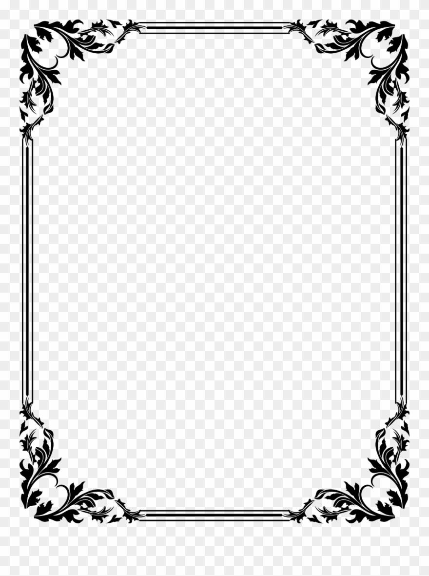 Download Free Download Clip Art Border Clipart Frames Border Certificate Design Png Download 230416 Pinclipart