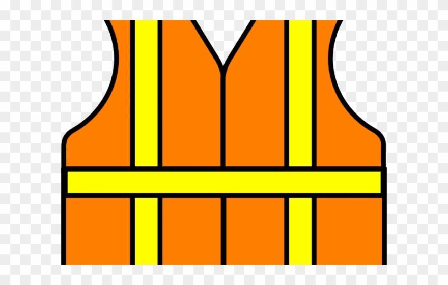 Construction Clipart Jacket - Construction Vest Icon - Png Download