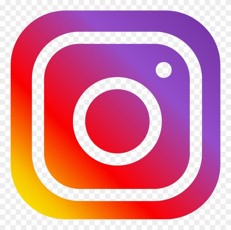 Instagram word. Square facebook png format