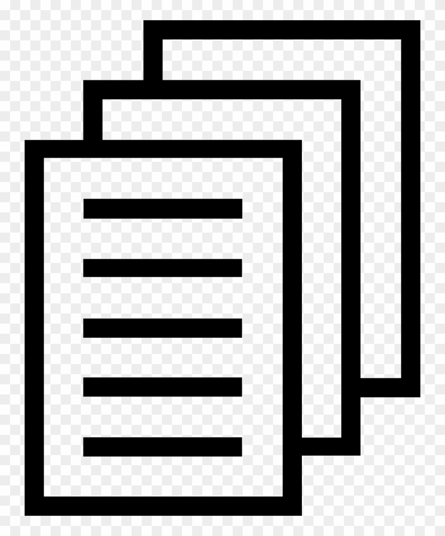 Download Document Clipart Stack Papers - File Stack Icon ...