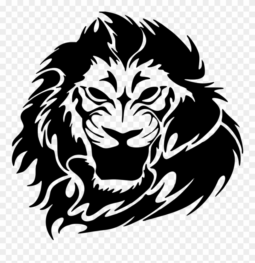How To Draw A Lion Face Roaring Easy Realistic Clipart 2330942 Pinclipart Lion face vector for t shirt design. how to draw a lion face roaring easy