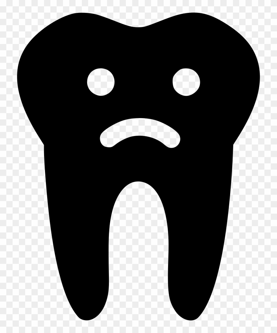 Sad Tooth Comments Clipart 2356187 Pinclipart