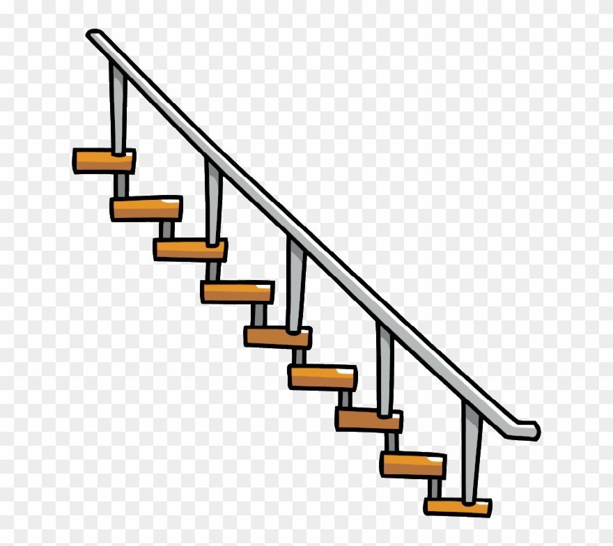 Staircase Vector Transparent - Stairs Transparent Png