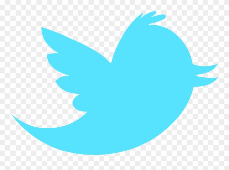 Twitter bird. Follow on vector clipart