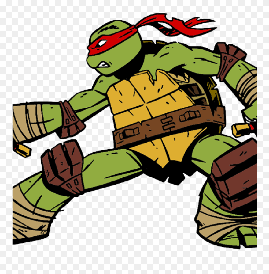 Tmnt Clipart Teenage Mutant Ninja Turtles Clip Art - Ninja Turtles Raphael  Cartoon - Png Download (#244325) - PinClipart