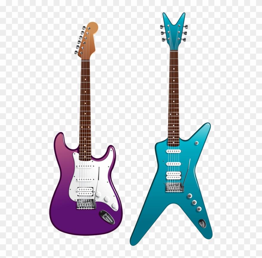 White Fender Strat Clip Art - Fender Stratocaster Drawing - Free  Transparent PNG Clipart Images Download
