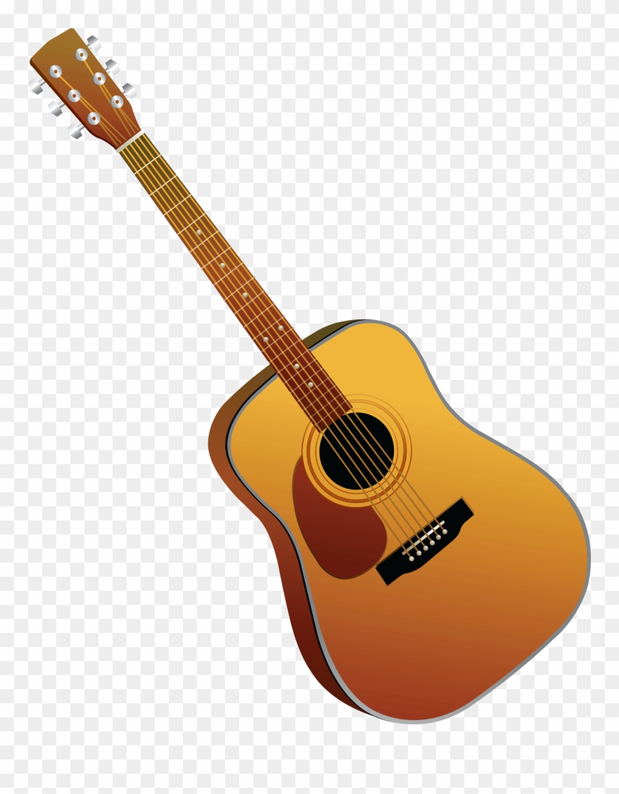 Rejected Stamp Clipart Guitar Cartoon Guitar Transparent Background Png Download 247211 Pinclipart