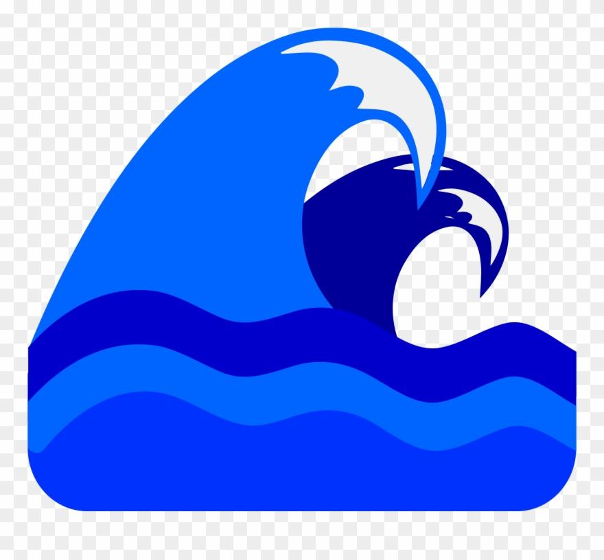 Waves blue. Clipart svg clip art
