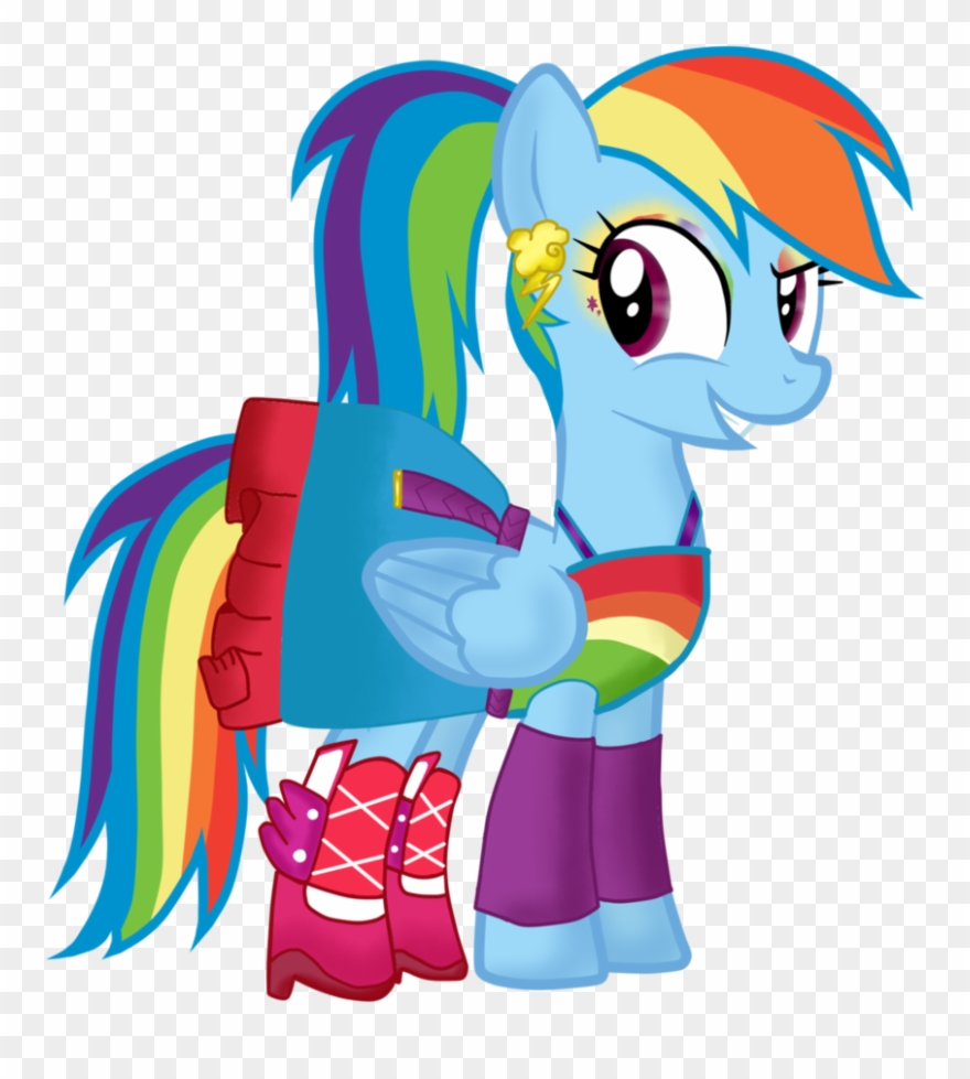 My Little Pony Filly Rainbow Dash Clipart (#595926) - PinClipart | 979x880