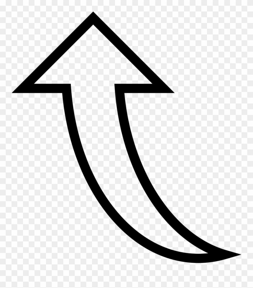 Curved Arrow Pointing Up Comments Clipart 2418515 Pinclipart
