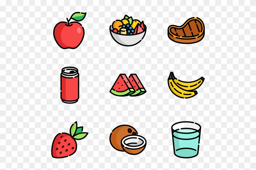 Food summer. Drink clipart pinclipart