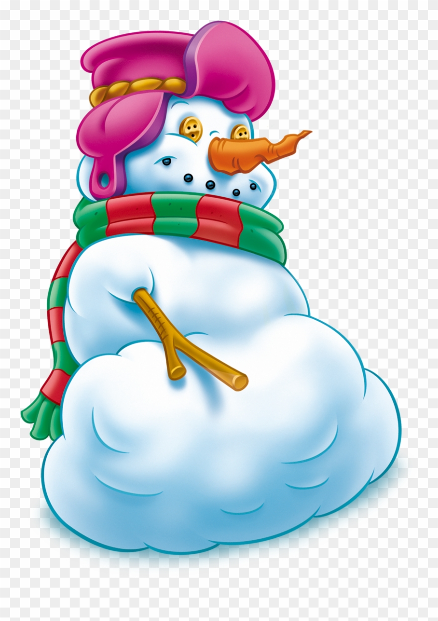 Рисунки смешные снеговики, днем