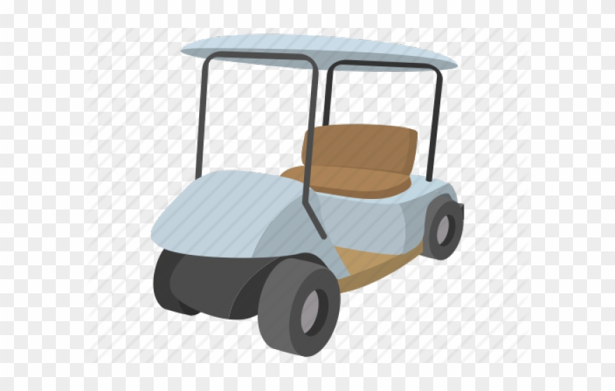Cartoon Golf Cart Clipart 2440660 Pinclipart