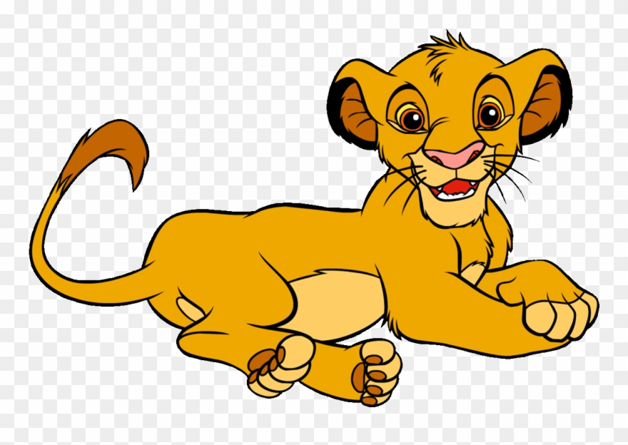Simba The Lion King Clipart Clip Art Library Gif Kion - Png Download