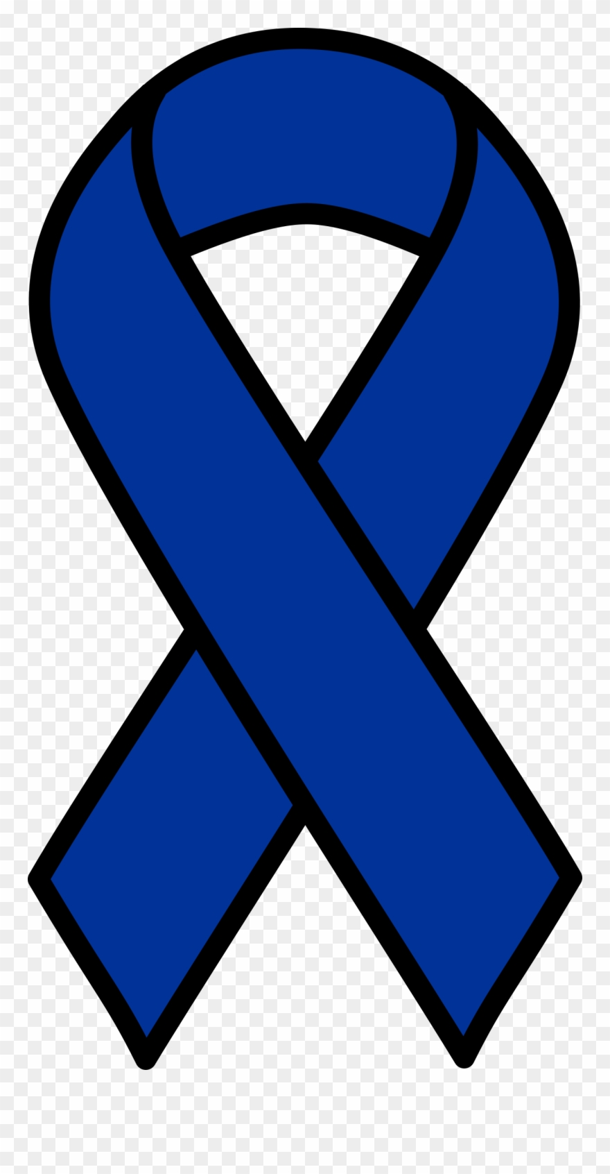 Big Image Colon Cancer Ribbon Svg Clipart 251392 Pinclipart
