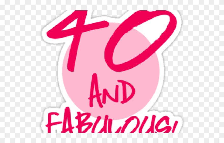 40th Birthday Clipart