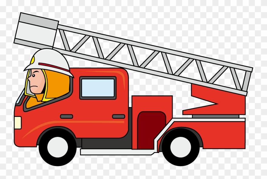 Clip Art Firetruck Cartoon Clipartix Fire Truck Cartoon Png Transparent Png 252580 Pinclipart