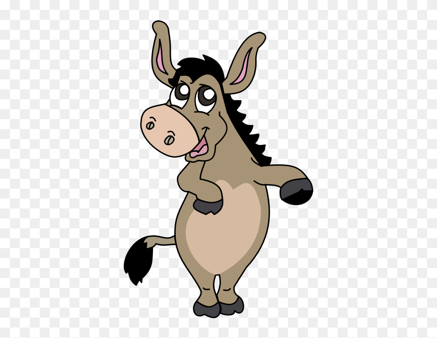 Donkey Free To Use Clip Art - Clipart Burro - Png Download (#258675