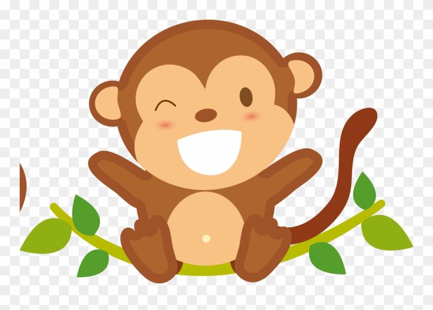 Cartoon Play Hd Picture Mono Bebe Dibujo Animado Clipart 258756