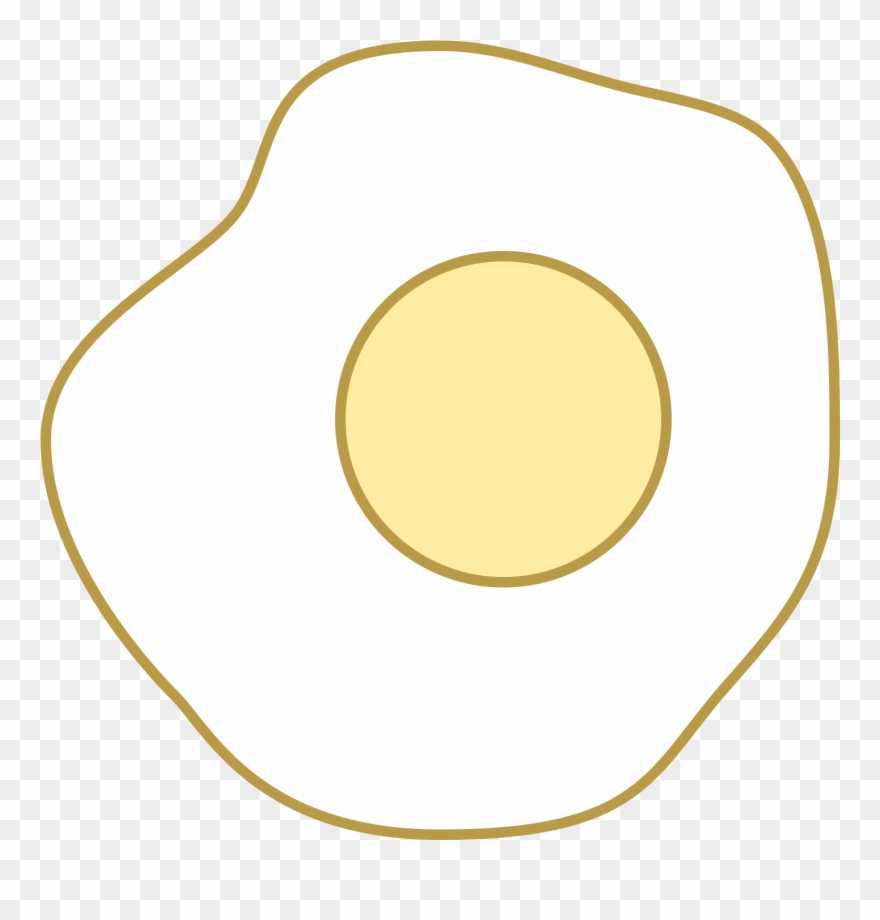 Sunny Side Up Eggs Icon Clipart (#2550446) - PinClipart